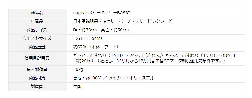 napnapBASICの製品情報